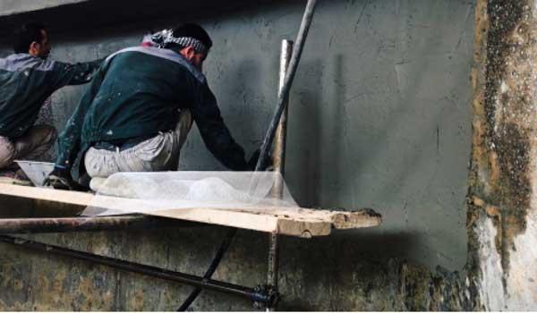 پودر ترمیم کننده سیویل بتن حاوی پلیمرهای پودری جهت ترمیم سطوح کرمو و خراب بتنی و افزایش مقاومت خوردگی و نفوذناپذیری سطح بتن در برابر عوامل جوی و شیمیایی